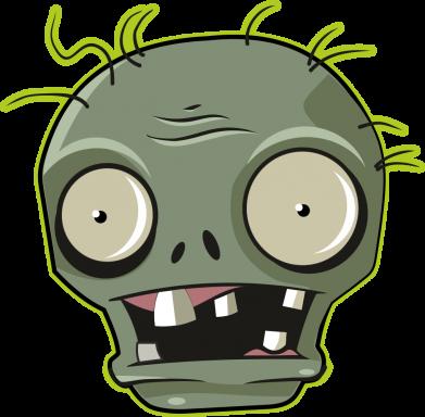 Принт Жіноча футболка Plants vs zombie head, Фото № 1 - FatLine