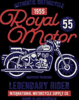 Принт Жіноча футболка Royal Motor 1955, Фото № 1 - FatLine