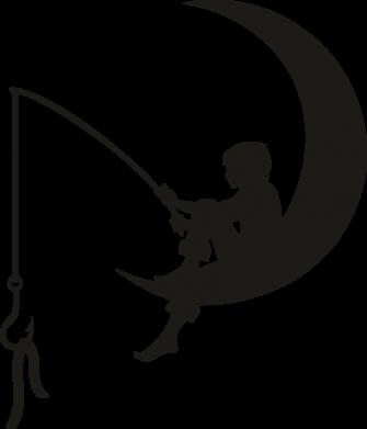 Принт Женская футболка Мальчик рыбачит, Фото № 1 - FatLine