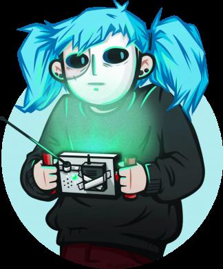 Принт Жіноча футболка Game Sally Face, Фото № 1 - FatLine