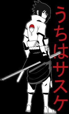 Принт Кружка 320ml Sasuke Art, Фото № 1 - FatLine