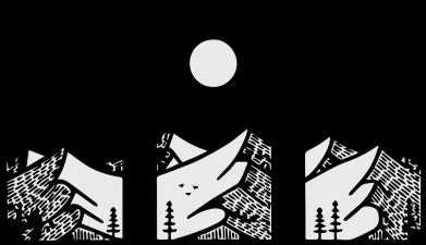 Принт Кружка 320ml Mountain sun, Фото № 1 - FatLine