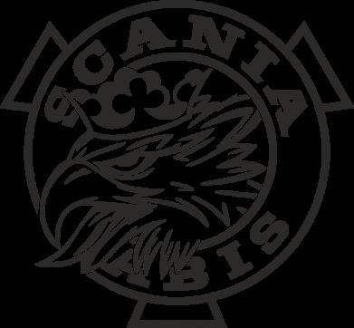 Принт Жіноча футболка Scania vabis logo, Фото № 1 - FatLine