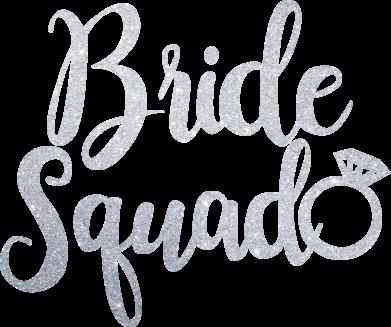 Принт Жіноча футболка Bride Squad, Фото № 1 - FatLine