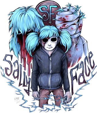 Принт Жіноча футболка SallyFace, Фото № 1 - FatLine