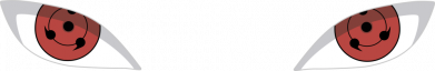 Принт Кружка 320ml Sharingan, Фото № 1 - FatLine
