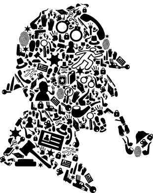 Принт Жіноча футболка Sherlock Holmes, Фото № 1 - FatLine