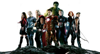 Принт Реглан Avengers on the rock - FatLine