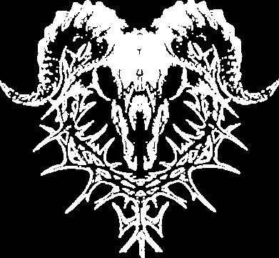 Принт Женская футболка Skull and horns, Фото № 1 - FatLine