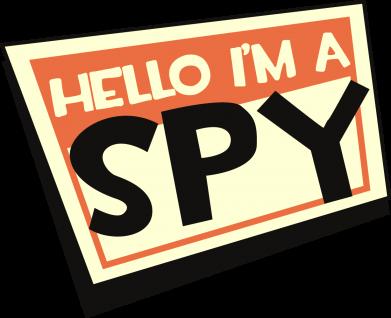 Принт Кепка Hello i'm a spy, Фото № 1 - FatLine