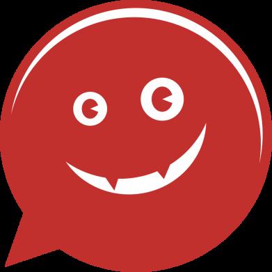 Принт Женская футболка Red smile, Фото № 1 - FatLine