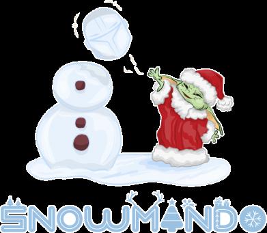Принт Женская футболка Snowmando, Фото № 1 - FatLine