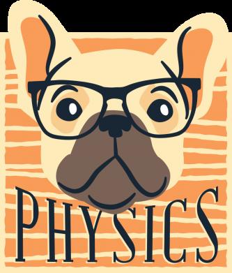 Принт Женская футболка Dog Physicist, Фото № 1 - FatLine