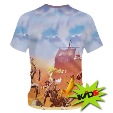 Принт Детская 3D футболка Fortnite season 8, Фото № 1 - FatLine