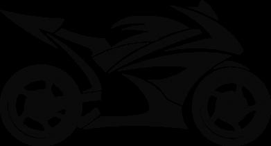 Принт Кружка эмалированная Спортивный байк, Фото № 1 - FatLine