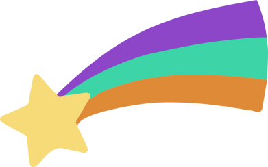 Принт Жіноча футболка Print Mabel star and rainbow, Фото № 1 - FatLine