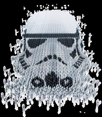 Принт Мужская майка Storm Troopers - FatLine