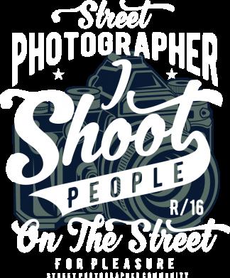 Принт Жіноча футболка Street Photographer, Фото № 1 - FatLine