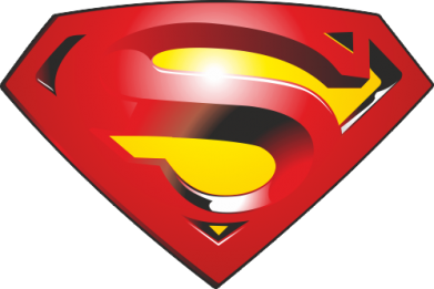 Принт Футболка Superman Emblem - FatLine