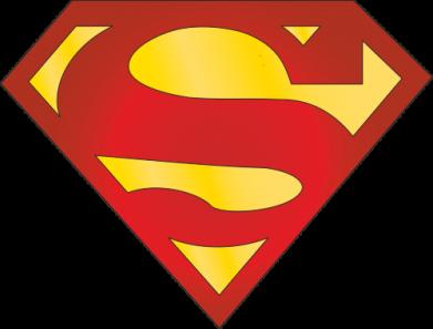 Принт Мужская футболка  с V-образным вырезом Superman Classic - FatLine