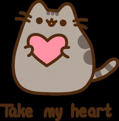 Принт Жіноча футболка Take my heart, Фото № 1 - FatLine