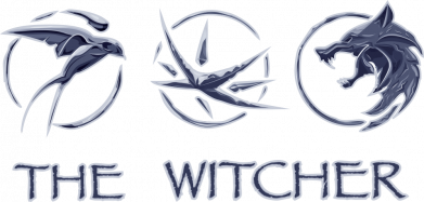Принт Женская футболка The witcher pendants, Фото № 1 - FatLine