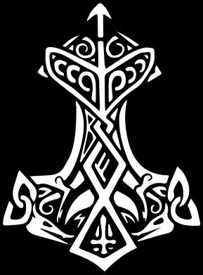 Принт Жіноча футболка Молот тора візерунок, Фото № 1 - FatLine