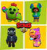 Four Legendary Characters in Brawl Stars