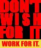 Dont wish