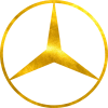 Mercedes Лого Голограма