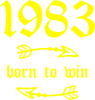 1983 Born to win