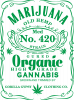 Cannabis label