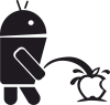 Android унижает Apple