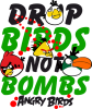 Drop Birds not bombs