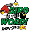 The bird in world Angry Birds