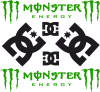 Monster Energy DC Logo
