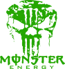 Monster Energy Череп