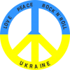 Love,peace, rock'n'roll, Ukraine