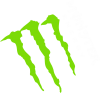 Monster Energy под наклоном