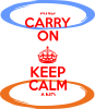 KEEP CALM teleport