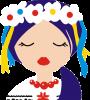 Красива україночка