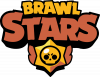 Brawl Stars logo orang and yellow