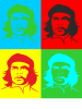 Che Guevara 4 COLORS