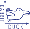 Rabbit and duck