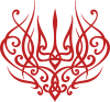 Герб України монограма