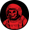 Cosmonaut skeleton
