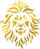 Vector lion pattern