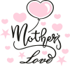 Mother love and balloon