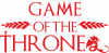 Game of thrones stylized logo