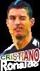 Крістіано Роналдо, полігональний портрет